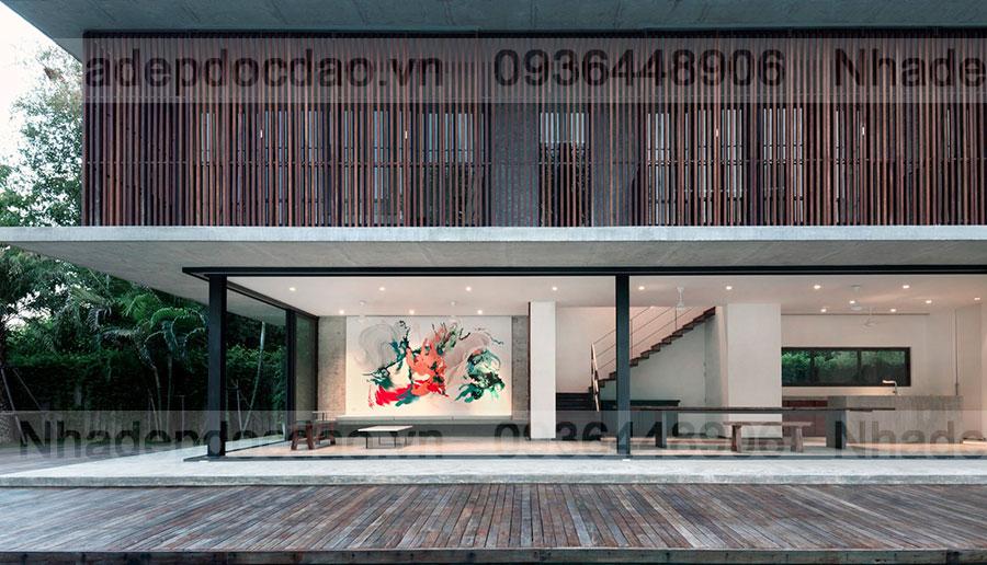 Nhà nghỉ cuối tuần ở Thái Lan