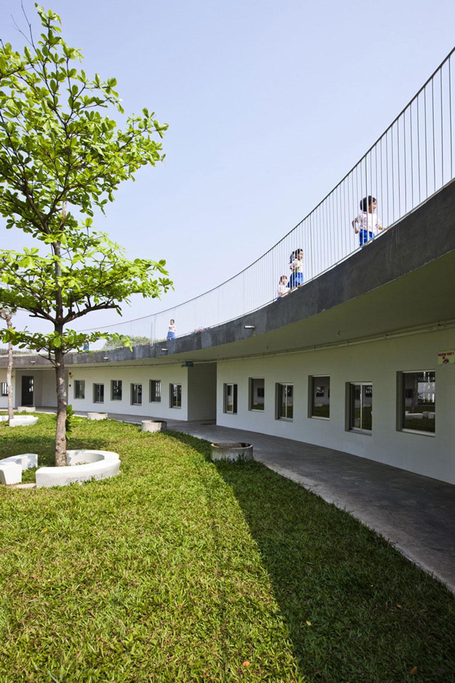 Trường mầm non xanh