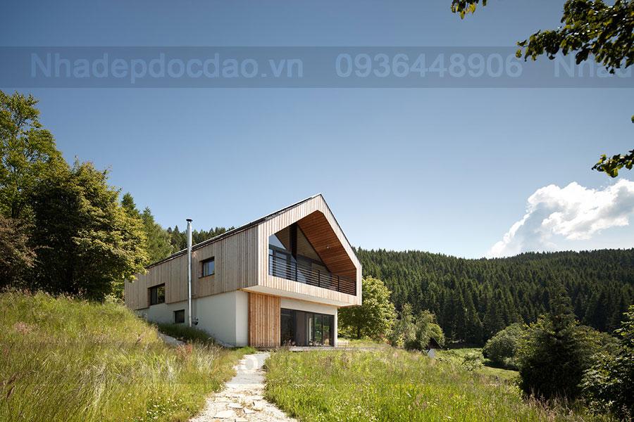 Ngôi nhà đẹp như tranh tại thung lũng Görtschitz