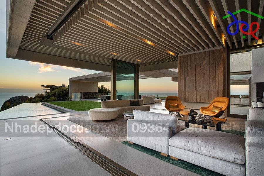 Thiết kế biệt thự trên đỉnh núi Capetown ở Nam Mỹ