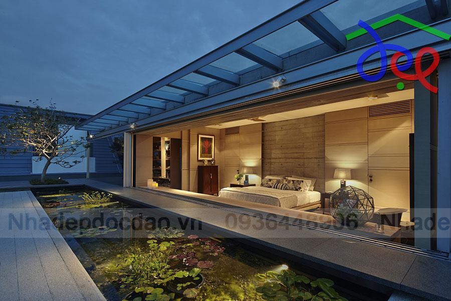 Thiết kế biệt thự xanh ở Singapore