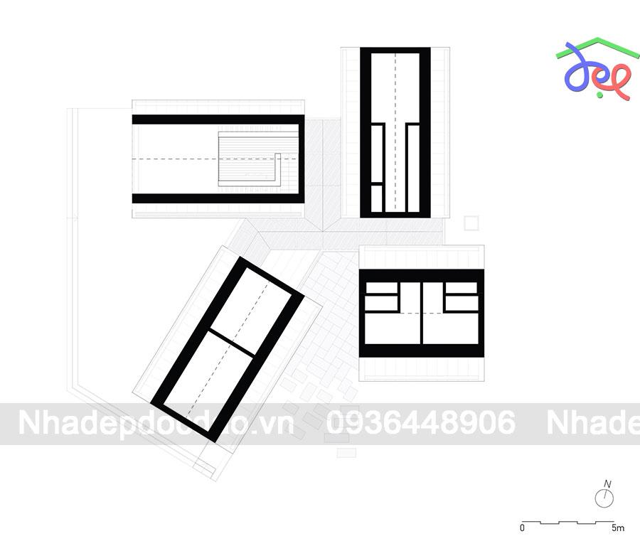 Thiết kế nhà nghỉ với 4 ngôi nhà nhỏ ở Bồ Đào Nha