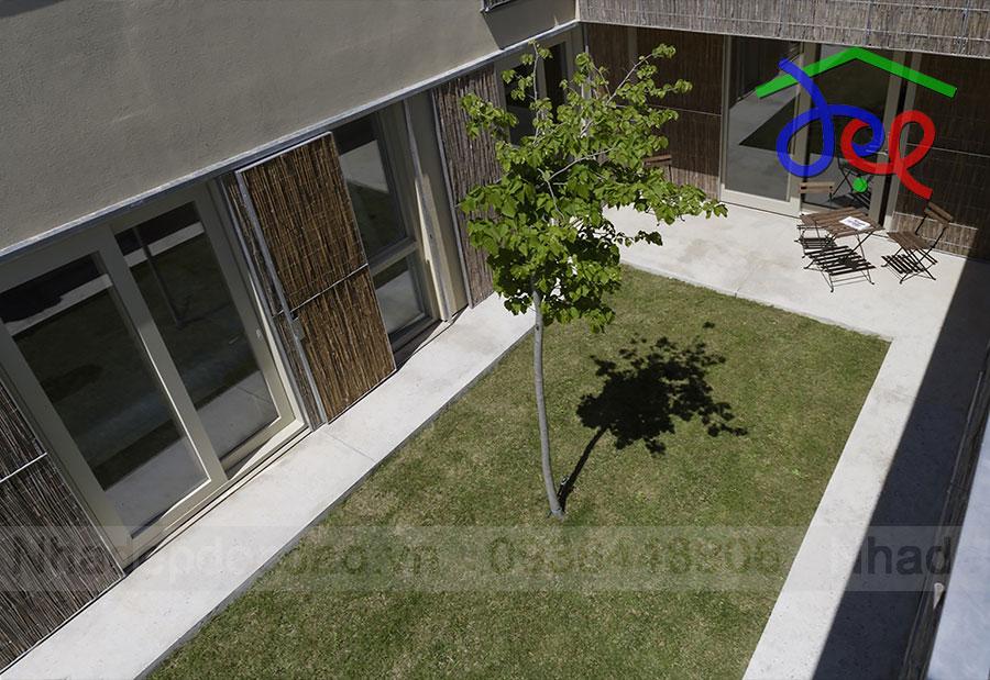 Thiết kế nhà vườn ở nông thôn thân thiện với môi trường