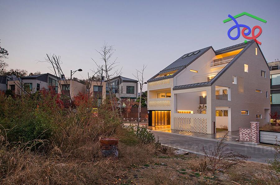 Thiết kế nhà phố phong cách đơn giản ở Hà Quốc