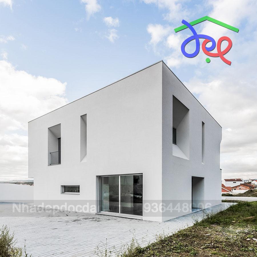 Thiết kế nhà phố vuông diện tích 11m x11m