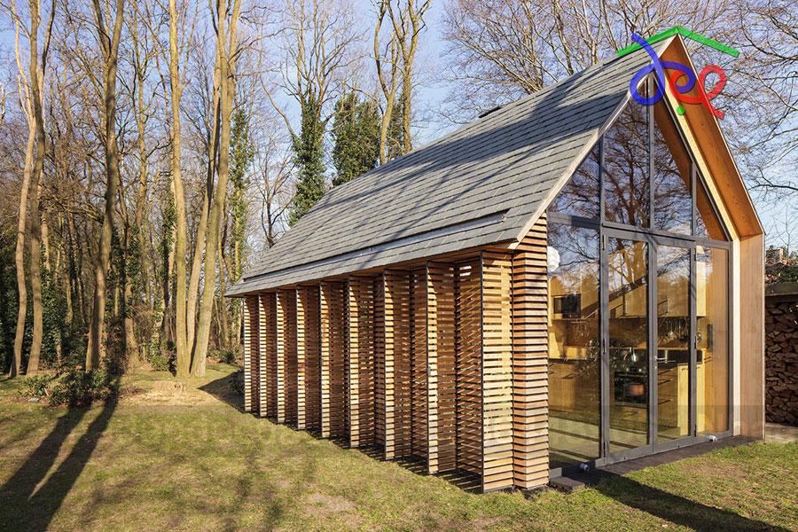 Thiết kế nhà nghỉ cuối tuần ở Utrecht, Hà Lan