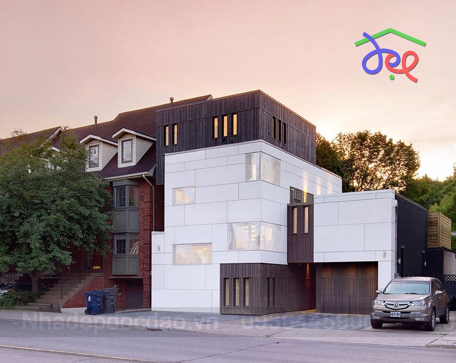 Thiết kế nhà phố 4 tầng ở Toronto, Canada