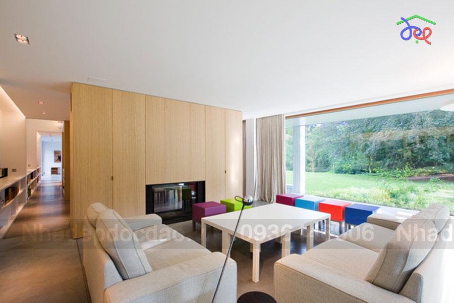 Thiết kế biệt thự vườn 3 tầng phong cách hiện đại