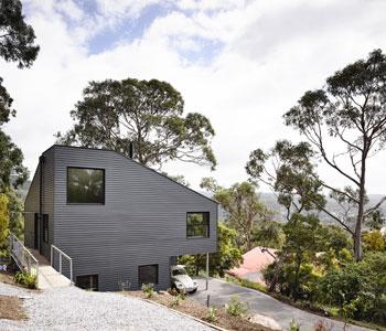 """Thiết kế nhà nghỉ cuối tuần """"lộn ngược"""" ở Australia"""