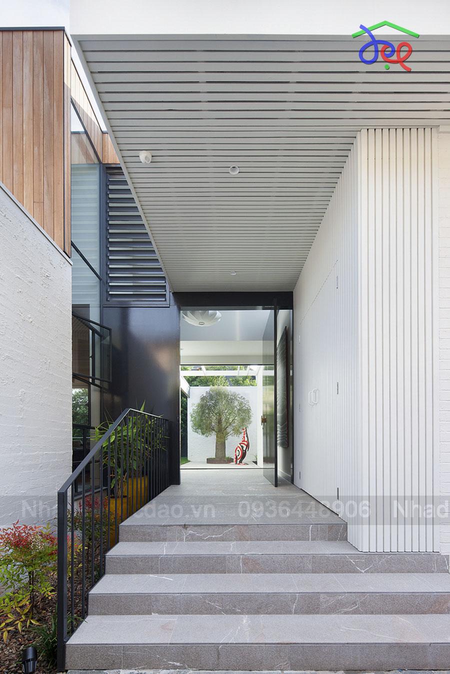 Kiến trúc bền vững trong thiết kế nhà phố ở Australia
