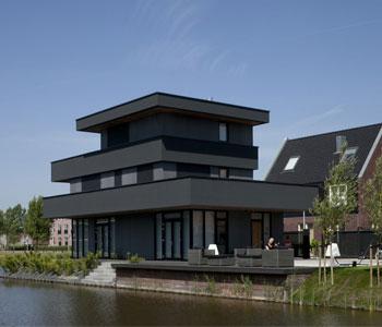 Thiết kế biệt thự 3 tầng phong cách hiện đại ở Hà Lan