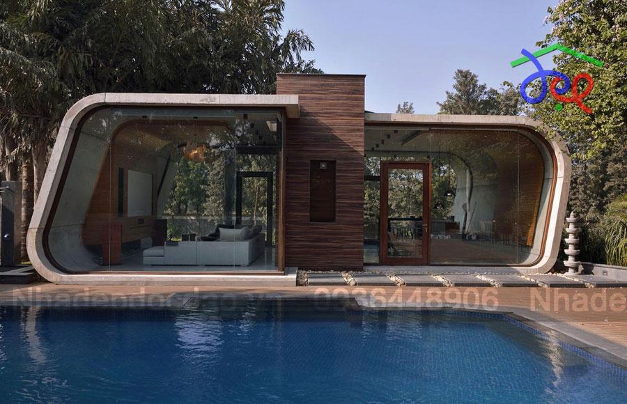 Thiết kế biệt thự phong cách độc đáo ở Ấn Độ