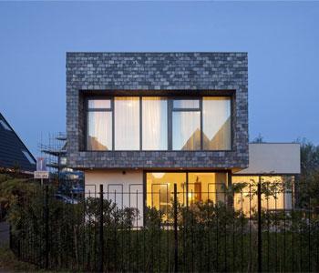 Thiết kế biệt thự với kiến trúc gạch truyền thống ở Hà Lan