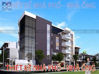 Thiết kế nhà phố nhà ống