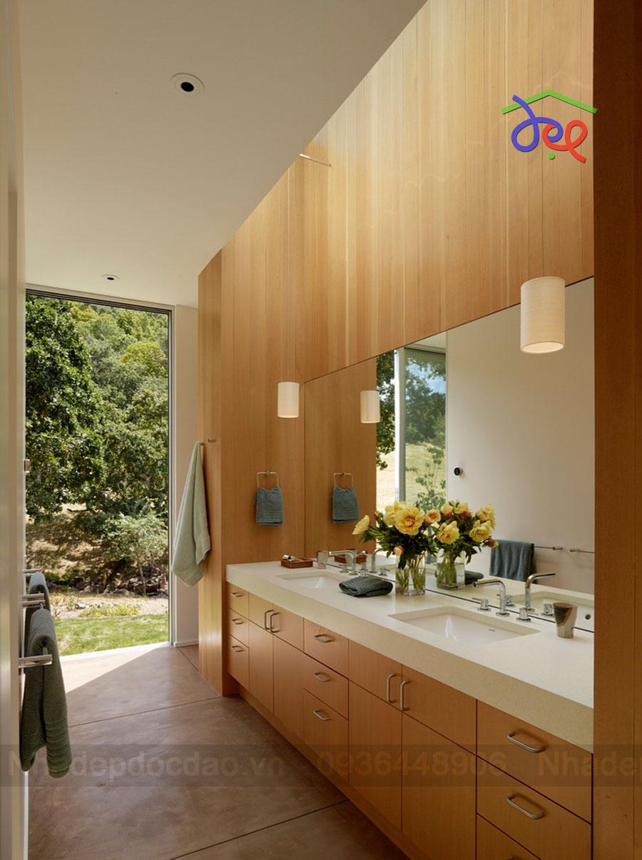 Thiết kế biệt thự 1 tầng phong cách hiện đại