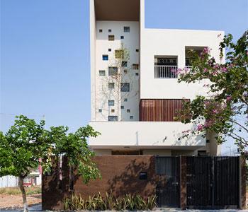 Thiết kế nhà phố 3 tầng phong cách độc đáo
