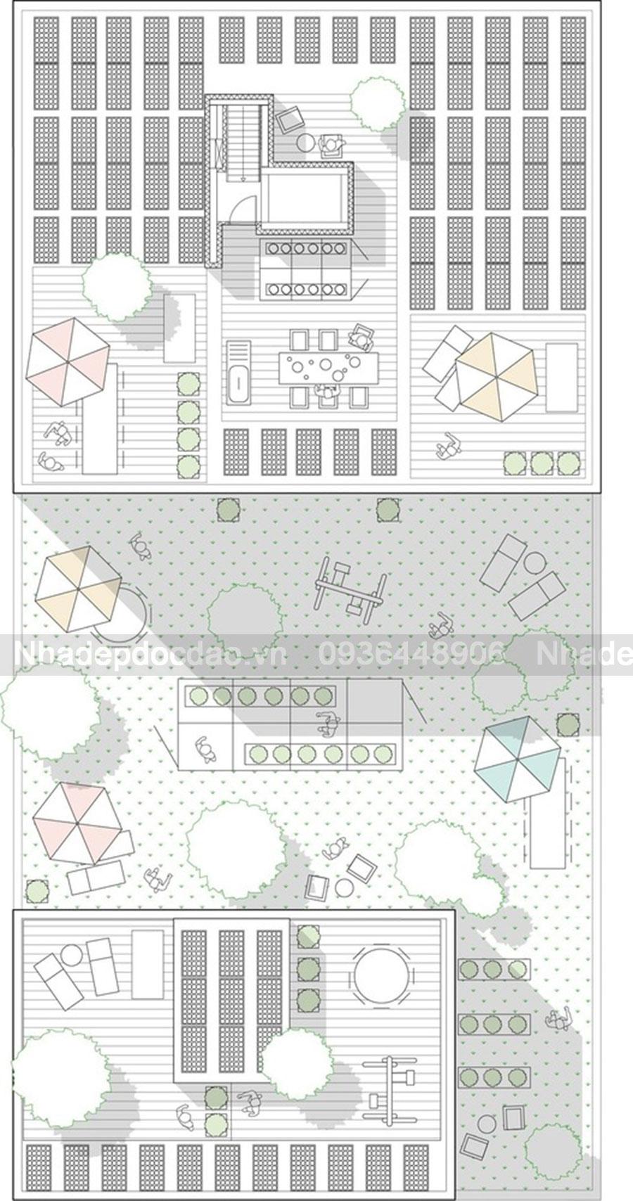 Thiết kế chung cư mini siêu cấp 10 tầng phong cách hiện đại