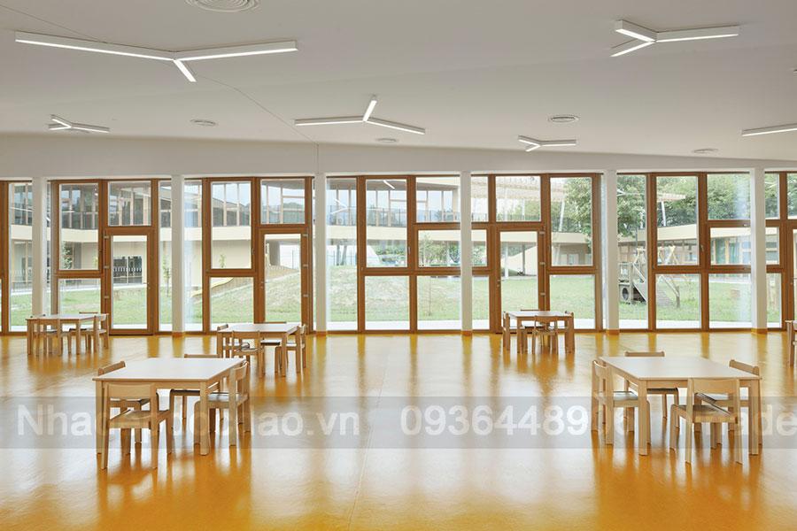 Thiết kế trường mầm non 2 tầng ở Mavrica