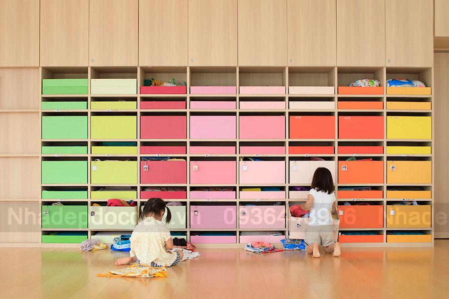Thiết kế trường mầm non 4 tầng đa sắc màu ở Fukuoka, Nhật Bản