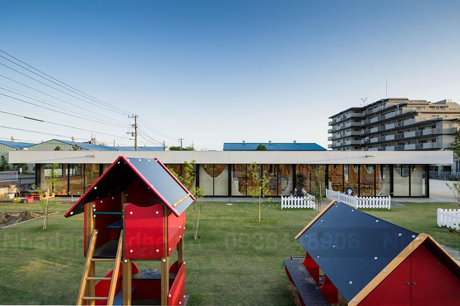 Thiết kế Trường mầm non theo mô hình khu vườn trẻ thơ