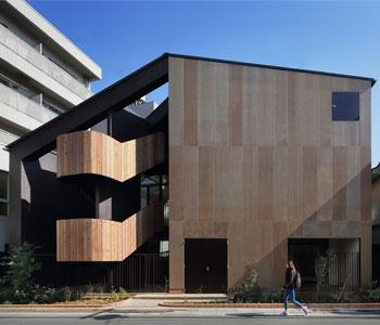Thiết kế trường mầm non 3 tầng ở Daichi, Nhật Bản