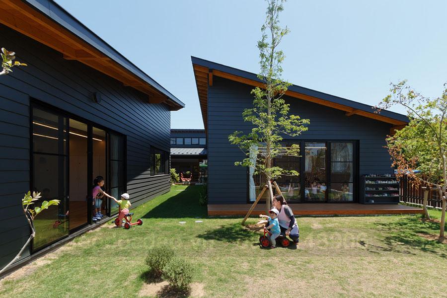 Thiết kế trường mầm non mở kết nối trẻ em với nhau