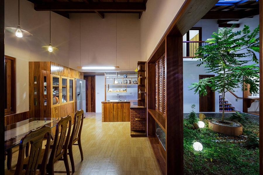 Thiết kế nhà đẹp diện tích 220m như resort nghỉ dưỡng