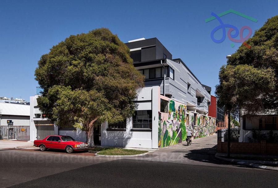 Thiết kế nhà phố 2 tầng ngập tràn ánh sáng và cây xanh