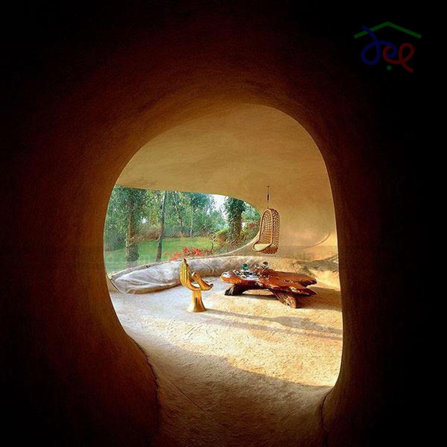 Thiết kế nhà ống dưới lòng đất độc đáo nhiều ánh sáng