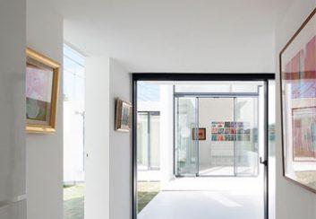 Thiết kế nhà phố theo nghệ thuật đương đại ở Nhật Bản