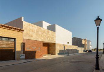 Thiết kế nhà phố đẹp ở Tây Ban Nha