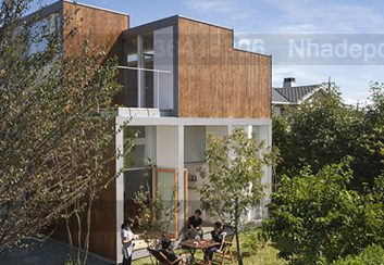 Thiết kế nhà phố hòa mình vào khung cảnh thiên nhiên