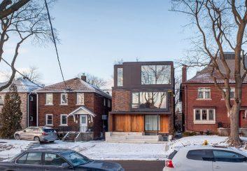 Thiết kế nhà phố 3 tầng ở Toronto, Canada