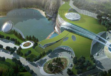 Khách sạn ngầm siêu sang ở Trung Quốc