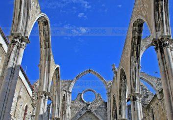 Convent Carmo – Kiệt tác của kiến trúc Gothic