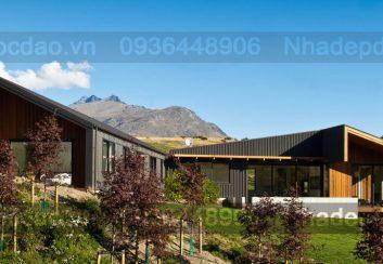 Mẫu thiết kế nhà vườn ở vùng nông thôn Otago