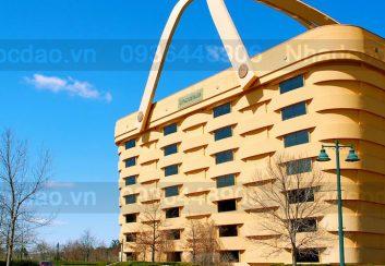 Tòa nhà hình chiếc giỏ