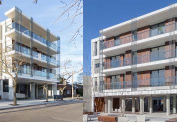 Thiết kế chung cư mini 5 tầng diện tích 2200m2