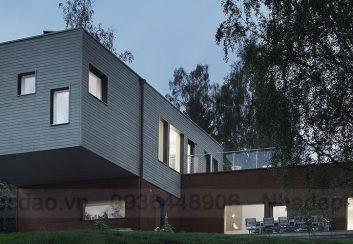 Thiết kế nhà nghỉ có không gian cho trẻ em ở Thụy Điển
