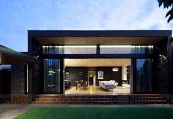 Thiết kế nhà nghỉ cuối tuần cải tạo lại từ ngôi nhà cũ
