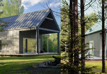 Thiết kế nhà nghỉ cuối tuần cho gia đình người thợ săn
