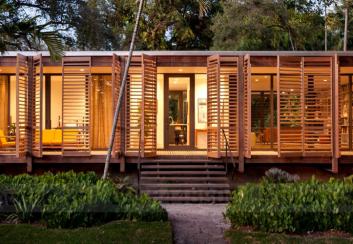 Thiết kế nhà nghỉ cuối tuần ở Miami, Mỹ