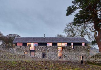 Thiết kế nhà nghỉ từ ngôi nhà cối xay gió cũ