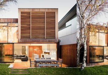 Thiết kế nhà phố 2 tầng diện tích 260m2