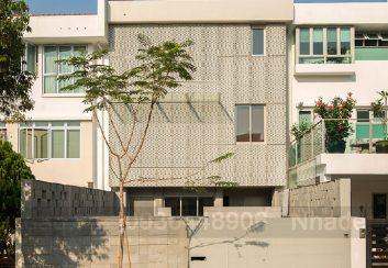 Thiết kế nhà phố 3 tầng diện tích 350m2