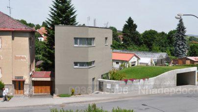 Thiết kế nhà vườn trong phố ở CH Séc