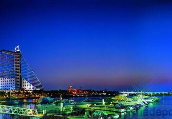 Khách sạn 7 sao Burj Al Arab ở Dubai