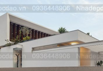 Thiết kế Vila phong  cách Địa trung hải